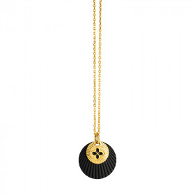 Collier Eclipse Chance noir