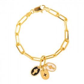 Bracelet chaine Confession Eclat Foi