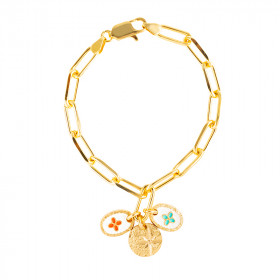 Bracelet chaine Esprit Etoile Coeur