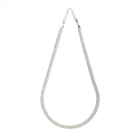 Collier Chaine plate