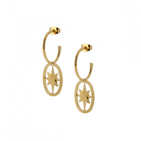 Boucles d'oreilles Bubble Star